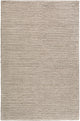 FLINT GRAY + IVORY TEXTURED STRIPE WOOL RUG