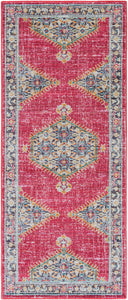 MADELYN RUG: BERRY MULTI