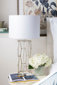 OPEN METAL TABLE LAMP