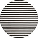 SKINNY STRIPES RUG: BLACK + WHITE