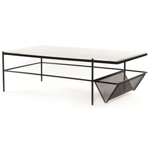 FELICITY MARBLE TOP COFFEE TABLE
