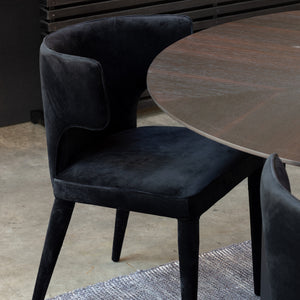 JENNAYA VELVET DINING CHAIR