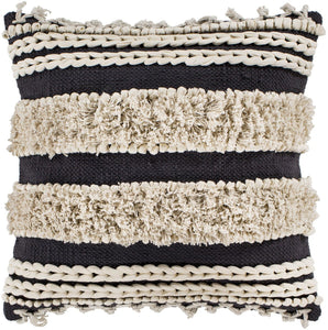 KENDI BRAIDED SHAG PILLOW