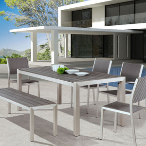 THE MINIMALIST OUTDOOR DINING ARM CHAIR | SET OF 2
