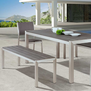THE MINIMALIST 6' OUTDOOR DINING TABLE