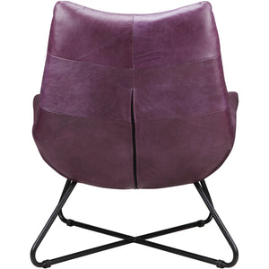 GRADUATE LOUNGE CHAIR: PURPLE
