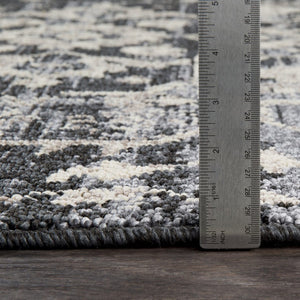 SEATTLE RUG: BLACK, ASH
