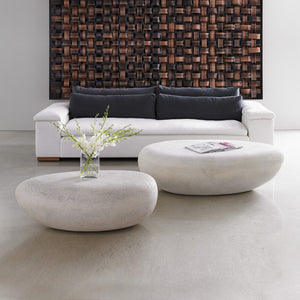 RIVER STONE INDOOR-OUTDOOR COFFEE TABLE