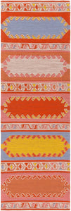 VIDJA OUTDOOR KILIM: POPPY