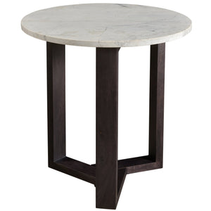 SATWARIA MARBLE TOP SIDE TABLE