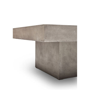 CONCRETE SLAB COFFEE TABLE: SQUARE