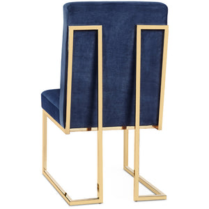 LUXOR VELVET DINING CHAIR | SET OF 2