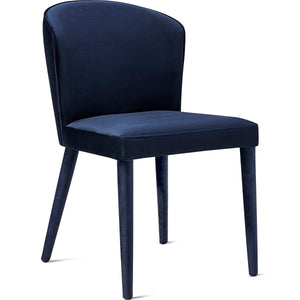 UMA VELVET SIDE CHAIR
