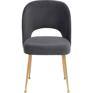 EDIE VELVET SIDE CHAIR
