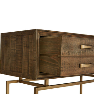 ARISTOCRAT RECLAIMED WOOD CONSOLE TABLE