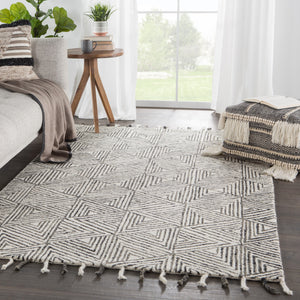 MONTBLANC HAND-TUFTED WOOL RUG