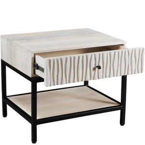 WHITE DUNES NIGHT STAND