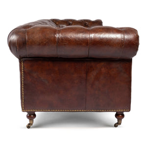 WINDSOR VINTAGE LEATHER CHESTERFIELD SOFA