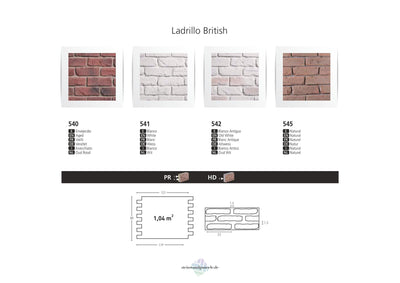 LADRILLO BRITISH