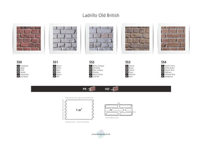 LADRILLO OLD BRITISH