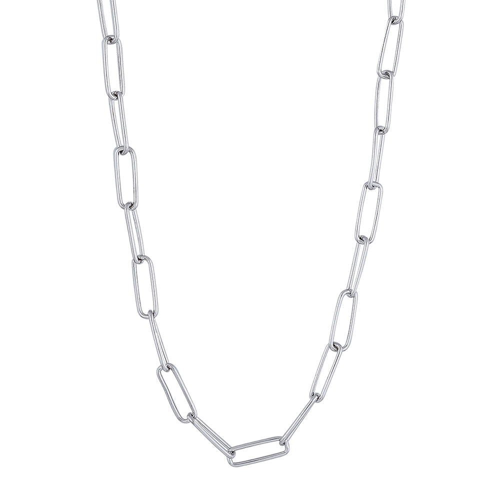 Large Link Chain Sterling Silver 50 cm