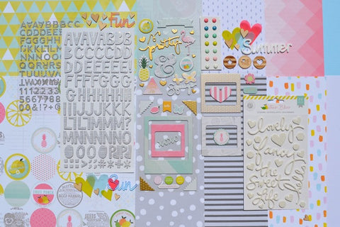 June 2015 Main Scrapbook Kit
