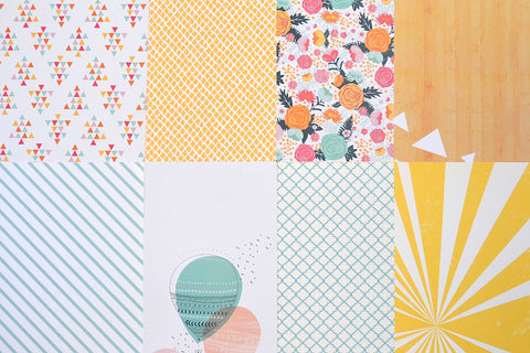 August 2015 - Main Kit Pattern Paper Only