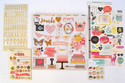 October 2015 Embellishment Add-On Kit