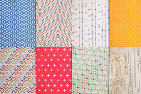 July 2015 - Pattern Paper Only
