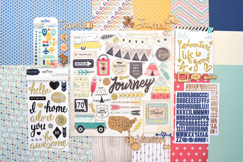 July 2015 Main Scrapbook Kit