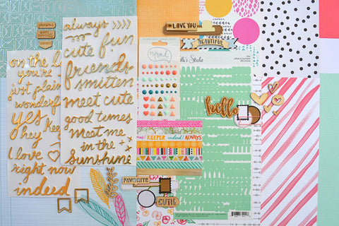 May 2015 Main Scrapbook Kit