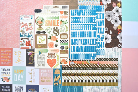November 2015 Main Scrapbook Kit