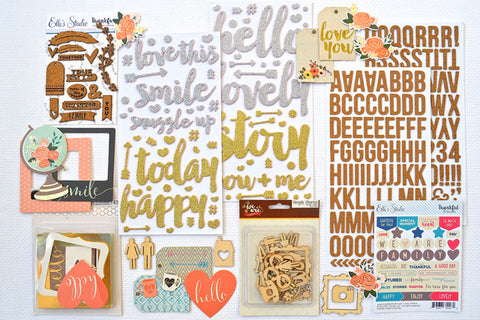 November 2015 Embellishment Add-On Kit