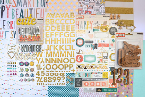 September 2015 Main Scrapbook Kit