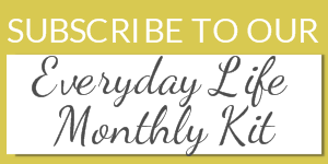 Everyday Life Pocket Page Kit Subscription