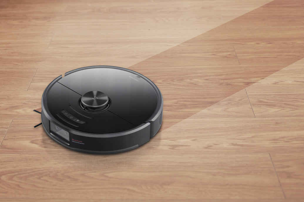 Roborock S6 MaxV smart schedule mopping with water flow