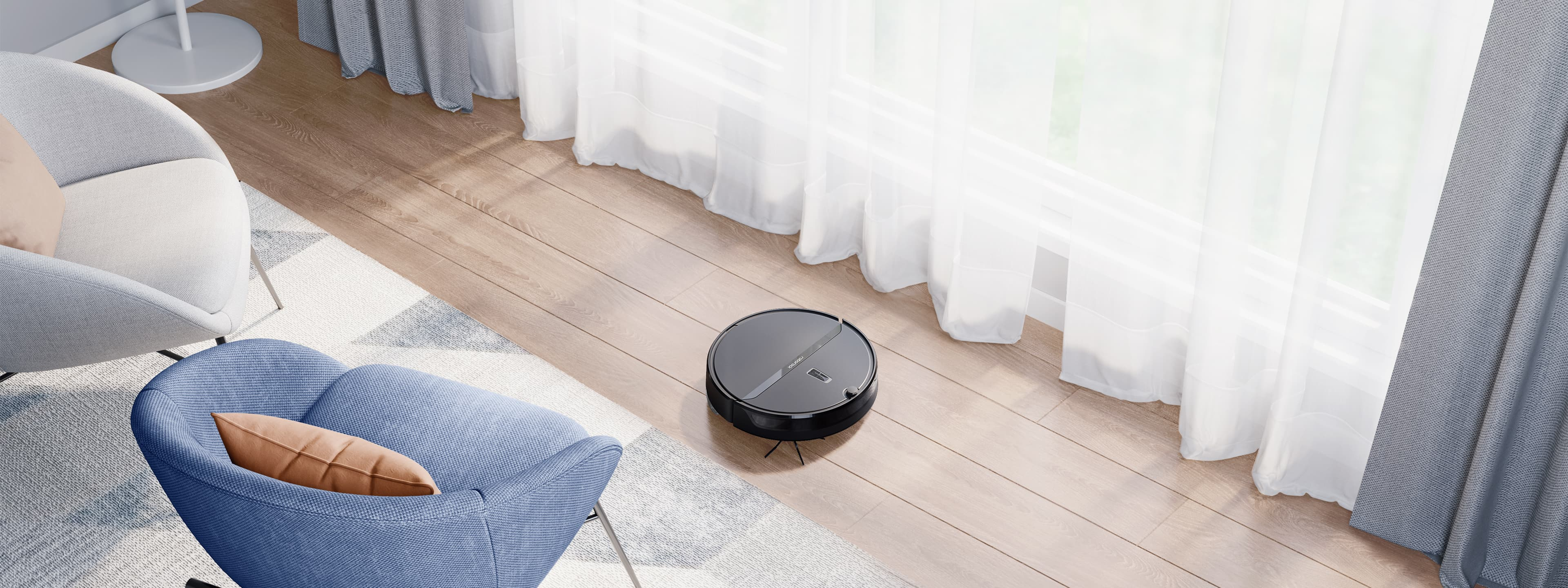 Roborock E4 Robot Vacuum Cleaner - Easy, Effective Home Cleaning