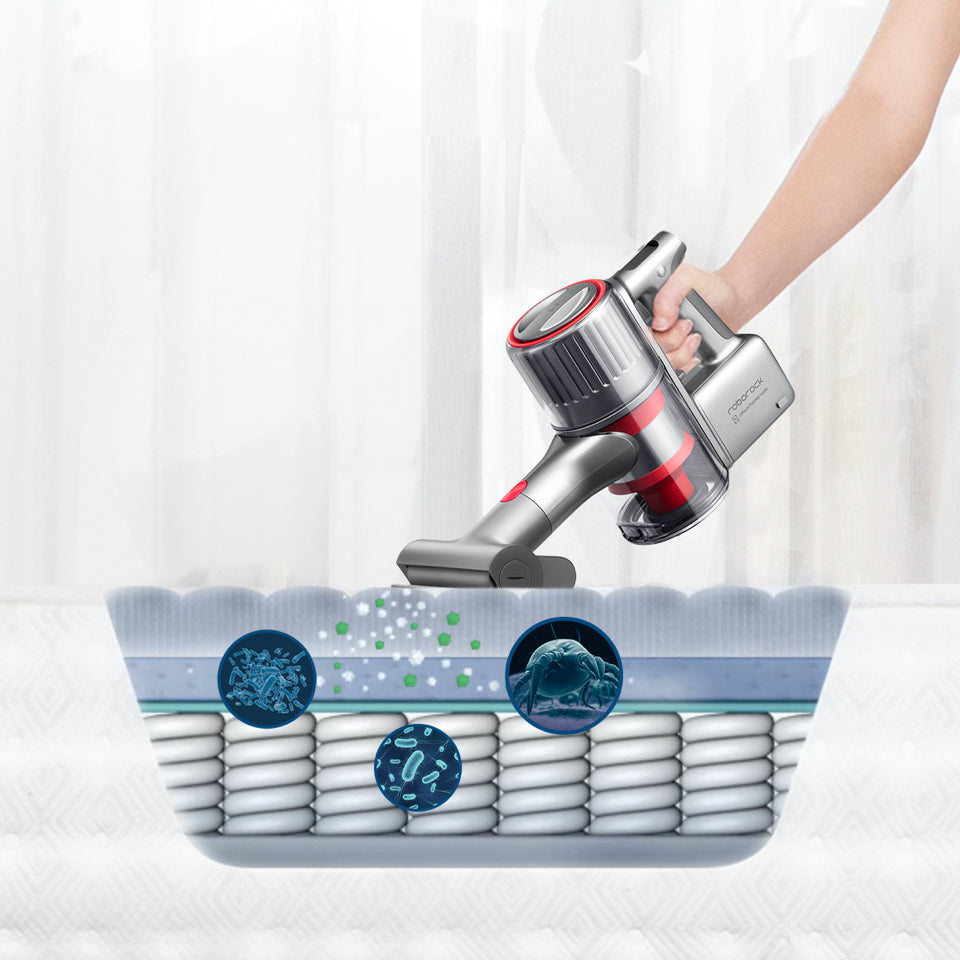 Roborock HEPA and E11 rated filters remove allergens from floors and surfaces
