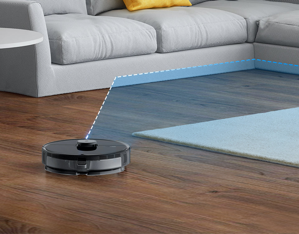 Roborock precision navigation covers floor effectively and avoid getting lost