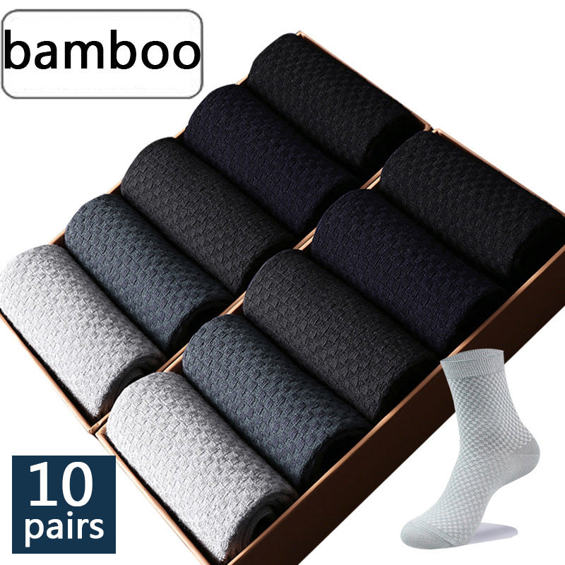 High Quality 10 Pairs Bamboo Socks - Unico shop co