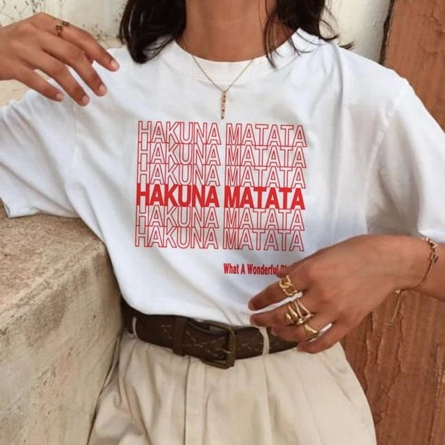 Hakuna Matata T Shirt 2020 - Unico shop co