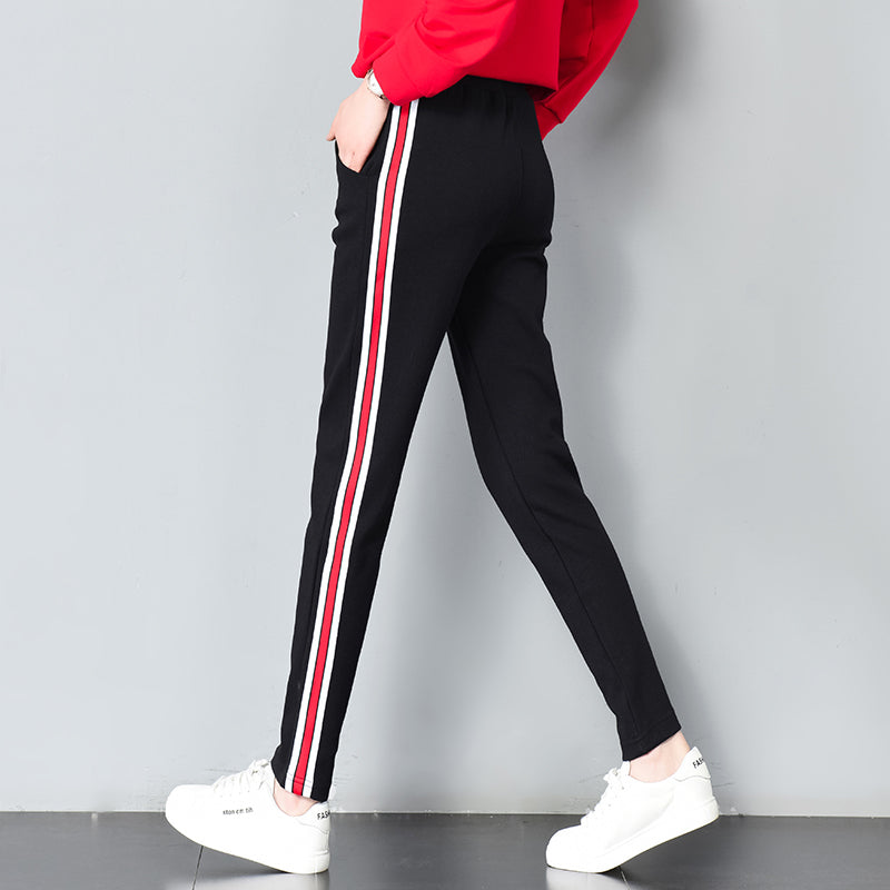 Side Striped Sweatpants - Unico shop co