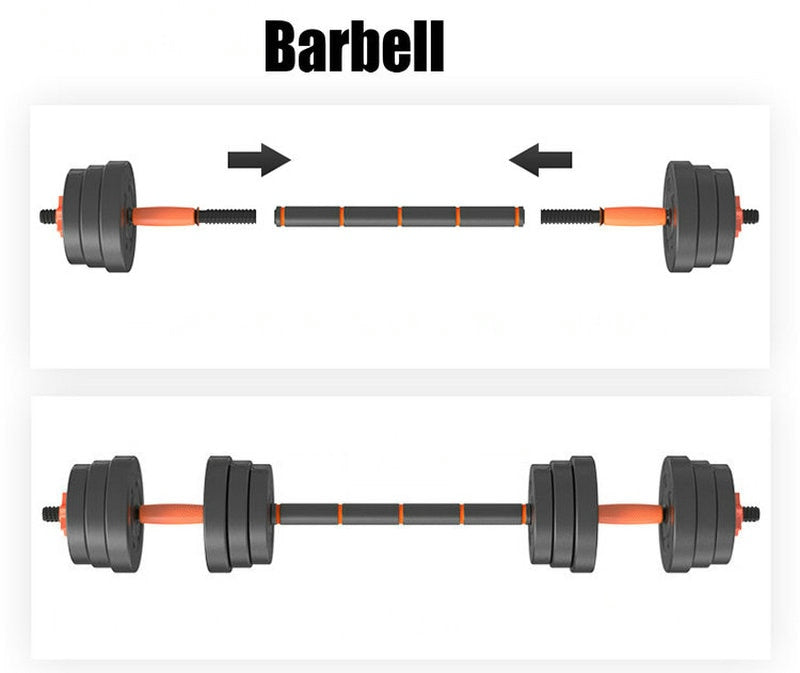 Adjustable Barbell and Dumbbell