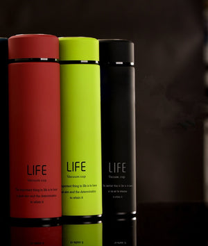 Insulated Vacuum Flask With Tea Infuser