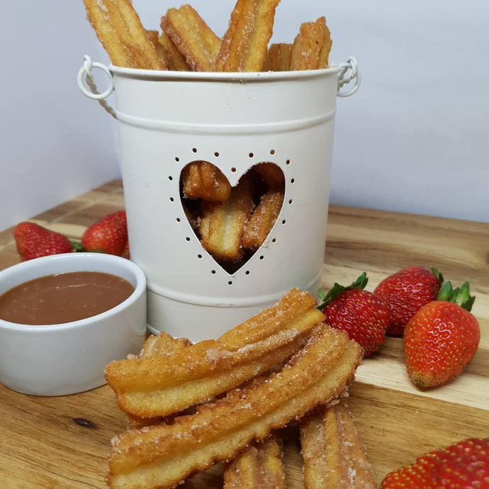 Churro's with Manuka Caramel Dipping Sauce