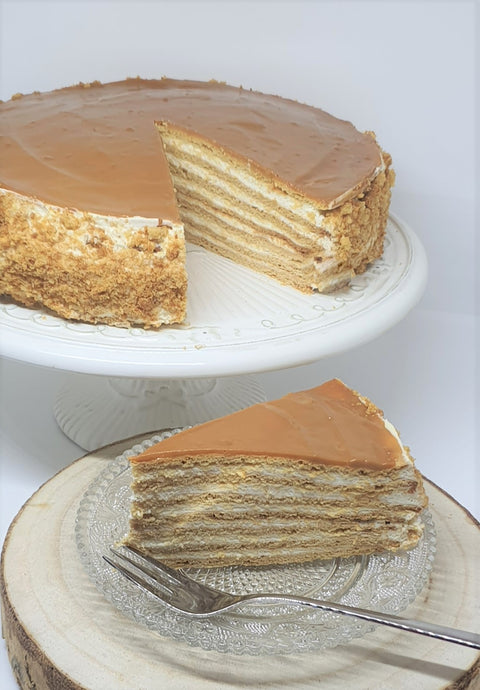 Russian Style Manuka Honey Cake