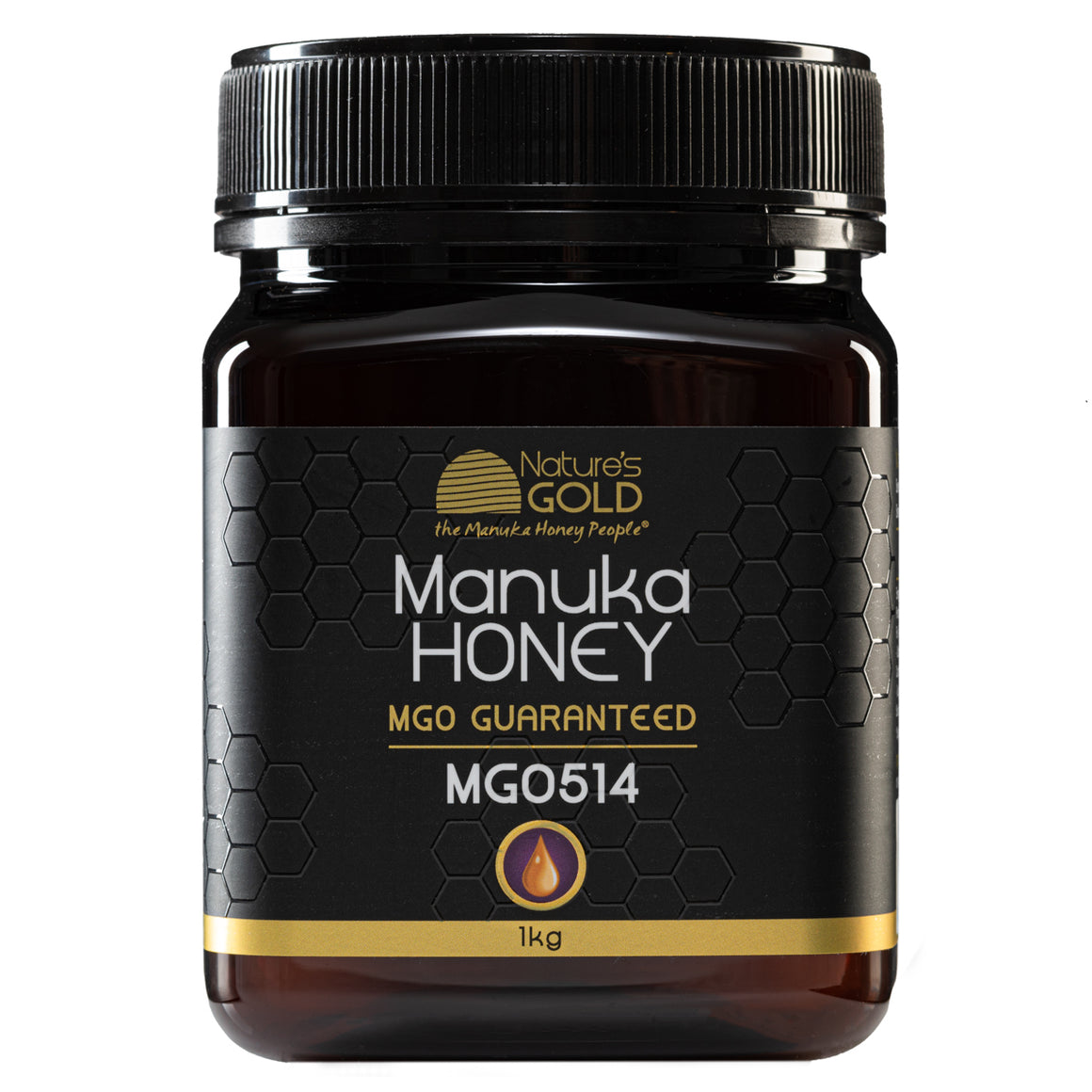 1kg size - 100% RAW AUSTRALIAN MANUKA HONEY