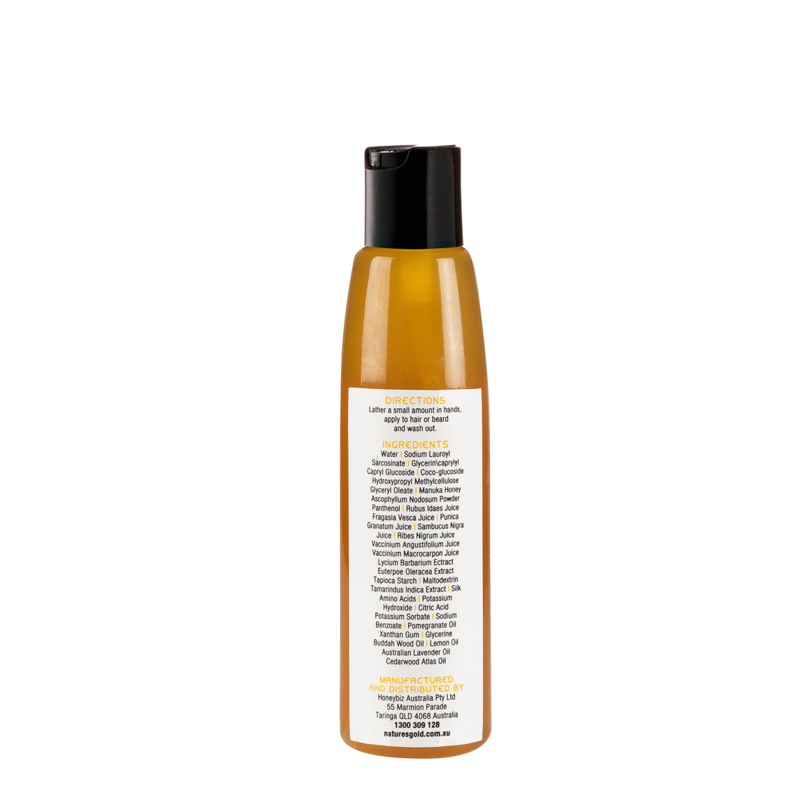 Manuka Men's Beard and Hair Wash