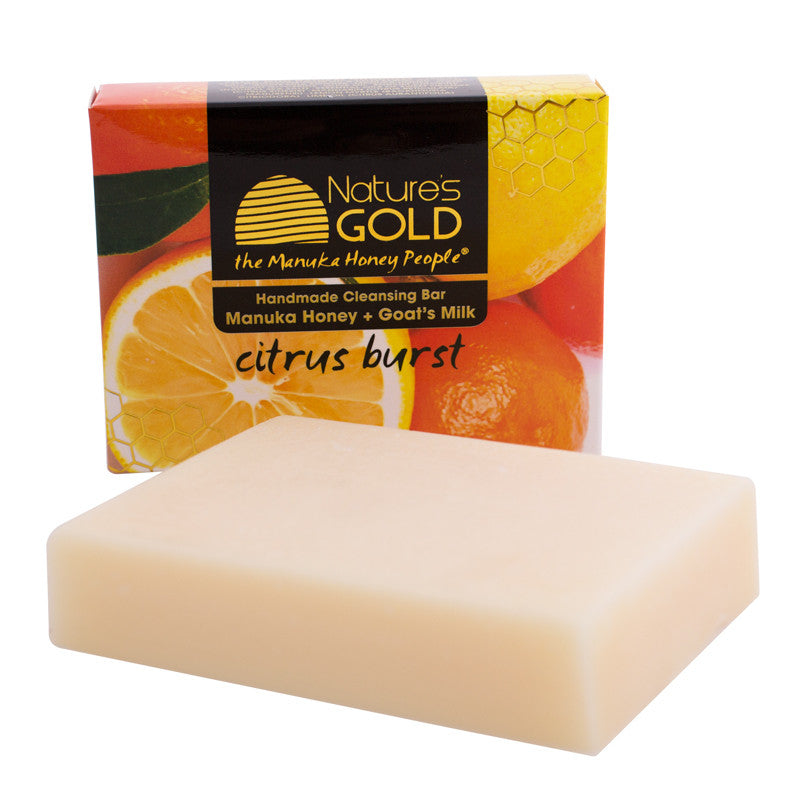 Manuka Honey & Goat's Milk Citrus Burst Natural Soap