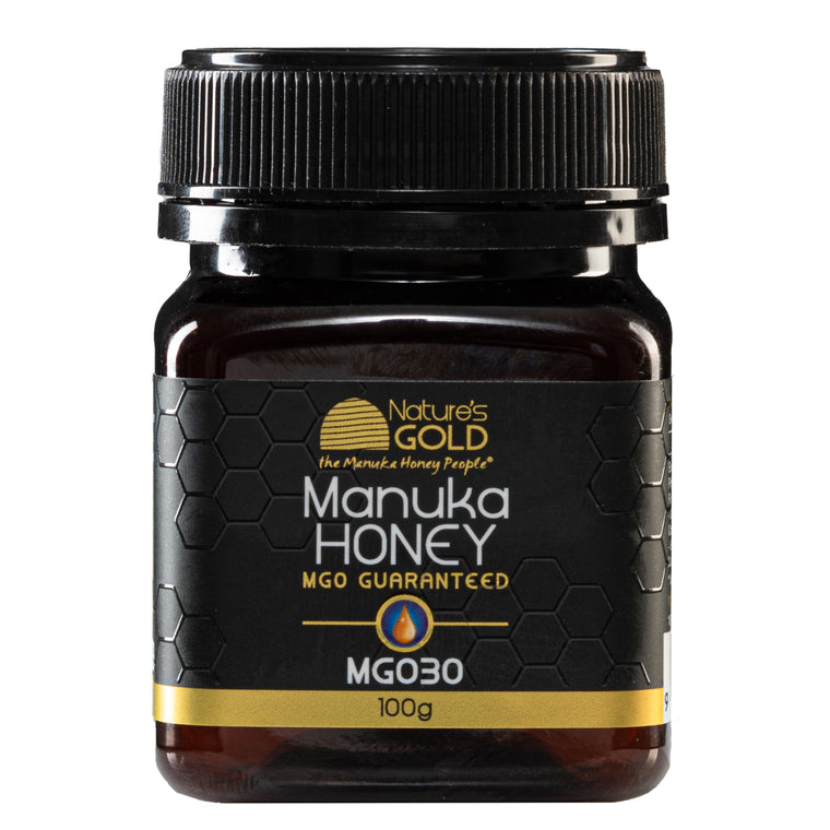 100g size - 100% Raw Australian Manuka Honey - strengths MGO 30 and 829